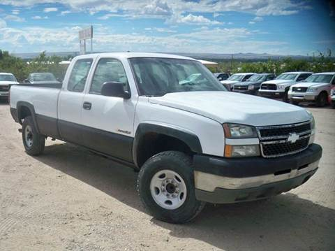 2005 Chevrolet Silverado 2500HD for sale at Samcar Inc. in Albuquerque NM