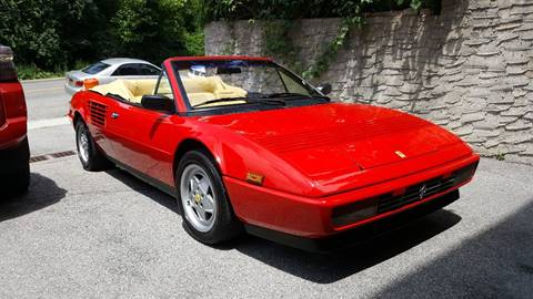 ferrari mondial cabriolet for sale. Black Bedroom Furniture Sets. Home Design Ideas
