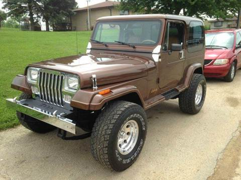 1987 Jeep Wrangler For Sale  Carsforsalecom