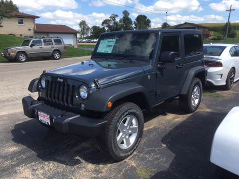 2016 Jeep Wrangler for sale in Cuba City, WI