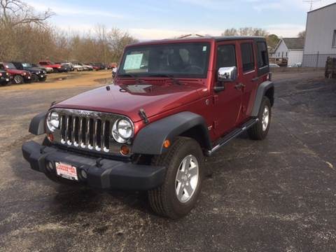 2012 Jeep Wrangler Unlimited for sale in Cuba City, WI