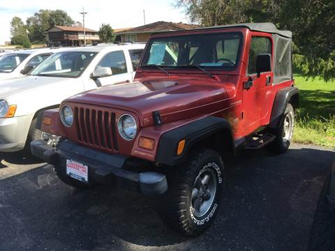 1998 Jeep Wrangler for sale in Cuba City, WI