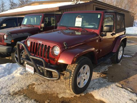 2010 Jeep Wrangler for sale in Cuba City, WI