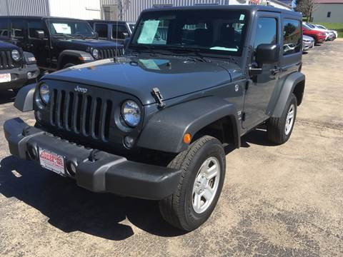 2017 Jeep Wrangler for sale in Cuba City, WI