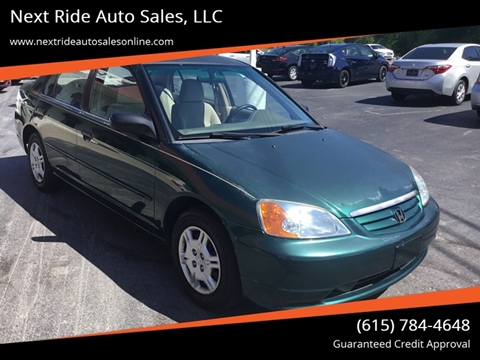 2001 Honda Civic for sale in Lebanon, TN