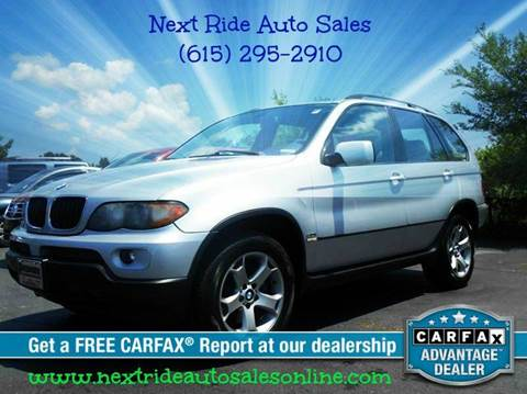 2005 BMW X5 for sale at Next Ride Auto Sales in Murfreesboro TN