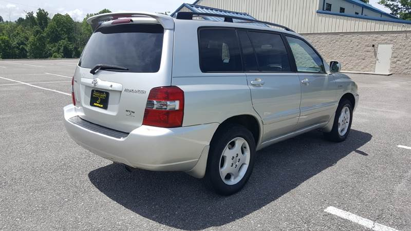 Toyota Highlander AWD Limited Dr SUV Wrd Row In Knoxville - 2005 highlander