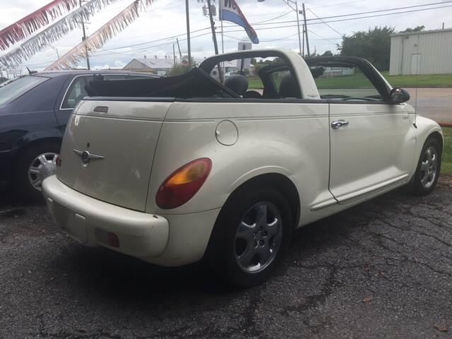 2005 Chrysler PT Cruiser Touring 2dr Convertible - Beaumont TX