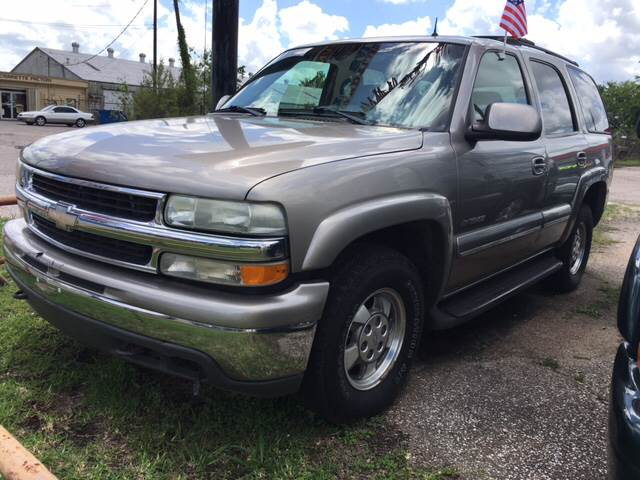 2002 Chevrolet Tahoe LS 4WD 4dr SUV - Beaumont TX