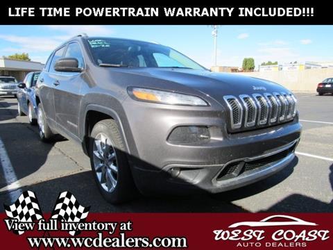 2017 Jeep Cherokee for sale in Pasco, WA