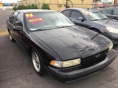 1996 Chevrolet Caprice for sale in Las Vegas, NV