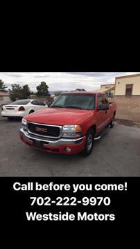 2003 GMC Sierra 1500 for sale in Las Vegas, NV