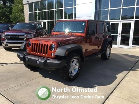 2014 Jeep Wrangler Unlimited for sale in North Olmsted, OH