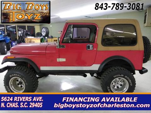 1984 Jeep CJ-7 for sale in North Charleston, SC