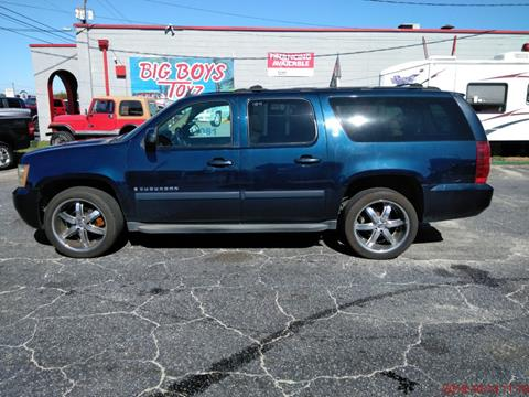 Used Cars Charleston Sc >> 2007 Chevrolet Suburban For Sale In North Charleston Sc