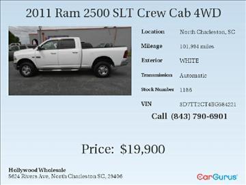 2011 RAM Ram Pickup 2500 for sale in North Charleston, SC