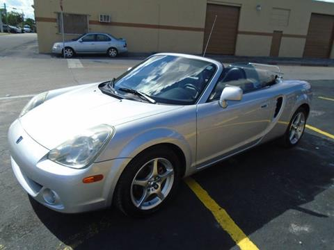 2003 Toyota MR2 Spyder for sale in Oakland Park, FL