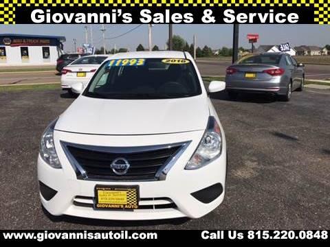 2016 Nissan Versa for sale at Giovannis Auto in Peru IL