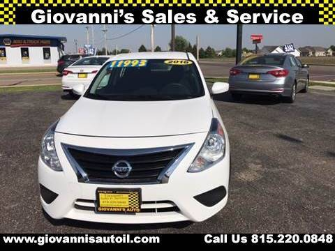 2016 Nissan Versa for sale at Giovannis Auto in Peru IL
