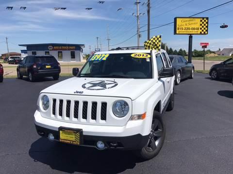2013 Jeep Patriot for sale at Giovannis Auto in Peru IL