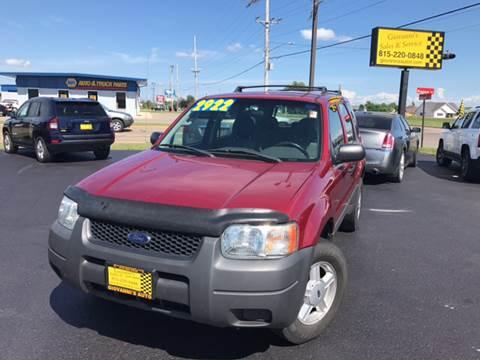 2003 Ford Escape for sale at Giovannis Auto in Peru IL