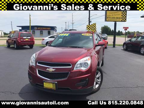 2010 Chevrolet Equinox for sale at Giovannis Auto in Peru IL