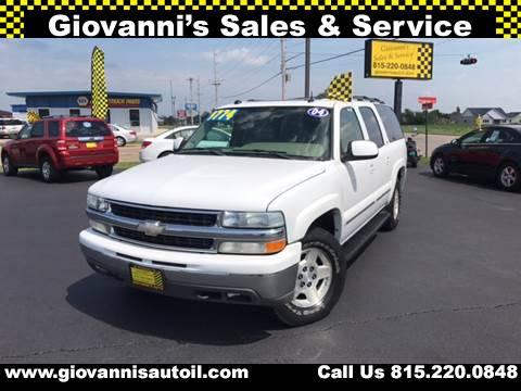 2004 Chevrolet Suburban for sale at Giovannis Auto in Peru IL