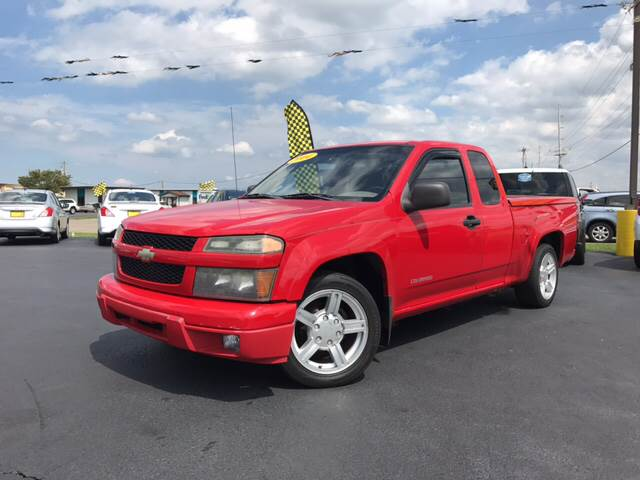2004 Chevrolet Colorado for sale at Giovannis Auto in Peru IL