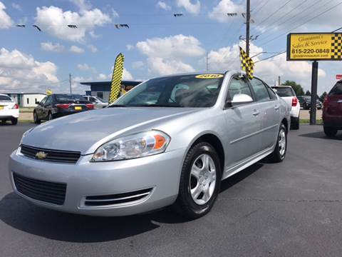 2010 Chevrolet Impala for sale at Giovannis Auto in Peru IL