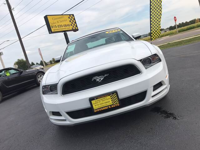 2014 Ford Mustang for sale at Giovannis Auto in Peru IL