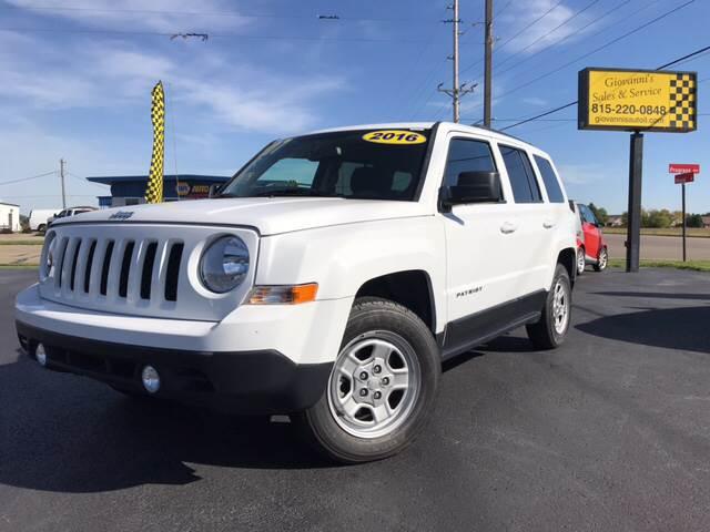 2016 Jeep Patriot for sale at Giovannis Auto in Peru IL