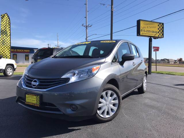 2016 Nissan Versa Note for sale at Giovannis Auto in Peru IL