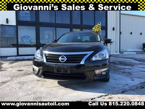 2015 Nissan Altima for sale at Giovannis Auto in Peru IL