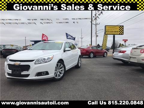 2015 Chevrolet Malibu for sale at Giovannis Auto in Peru IL