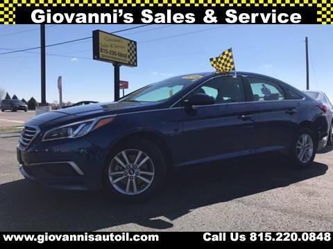 2016 Hyundai Sonata for sale at Giovannis Auto in Peru IL