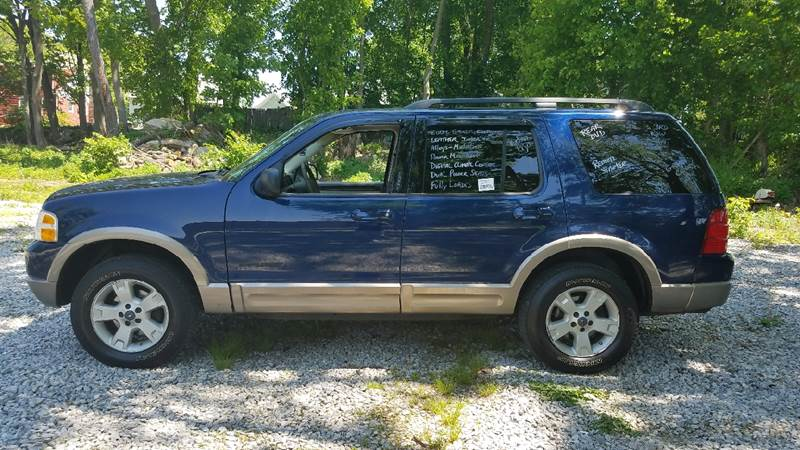 2004 Ford Explorer Eddie Bauer 4WD 4dr SUV - New London CT