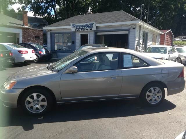 2003 Honda Civic EX 2dr Coupe   New London CT
