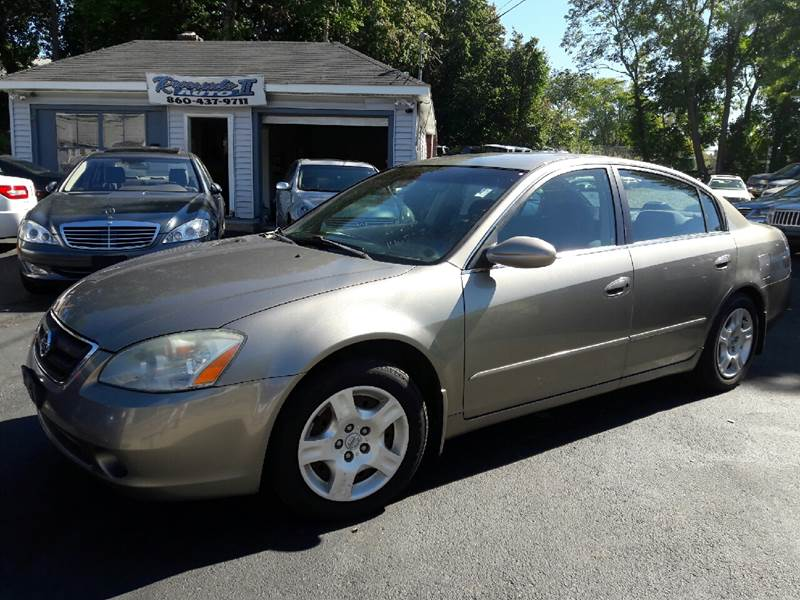 2002 Nissan Altima 2.5 S 4dr Sedan   New London CT