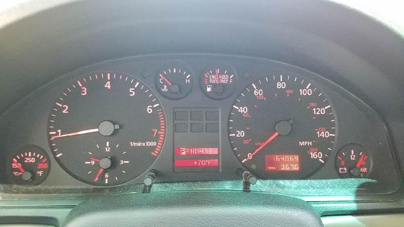 1999 Audi A4 AWD 4dr 1.8T quattro Turbo Sedan - New London CT