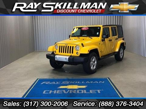 2015 Jeep Wrangler Unlimited for sale in Indianapolis, IN