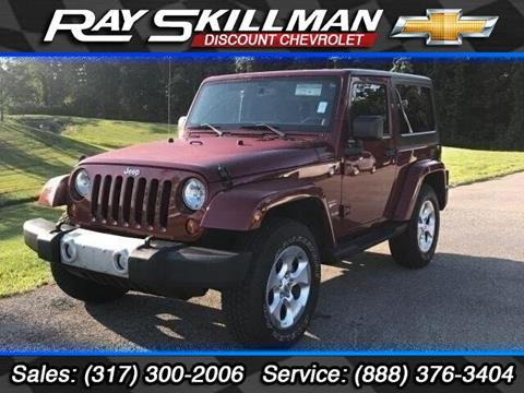 2013 Jeep Wrangler for sale in Indianapolis, IN