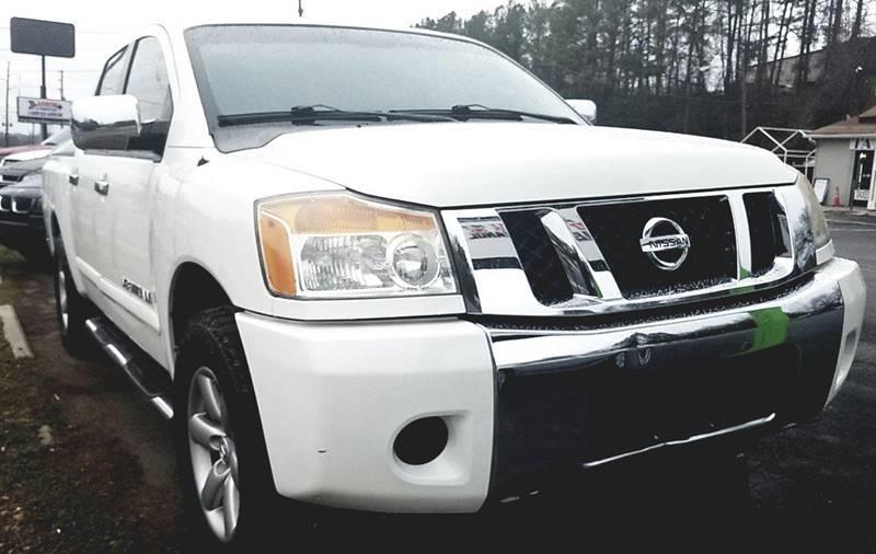 2008 Nissan Titan 4x2 SE 4dr Crew Cab Short Bed - Smyrna GA