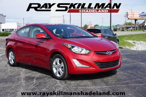 2016 Hyundai Elantra For Sale At RAY SKILLMAN SHADELAND In Indianapolis IN