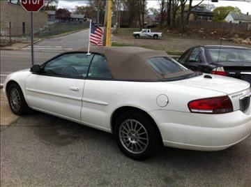 2005 Chrysler Sebring for sale at Leo Auto Sales in Warwick RI