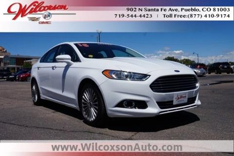 2016 Ford Fusion for sale in Colorado Springs, CO