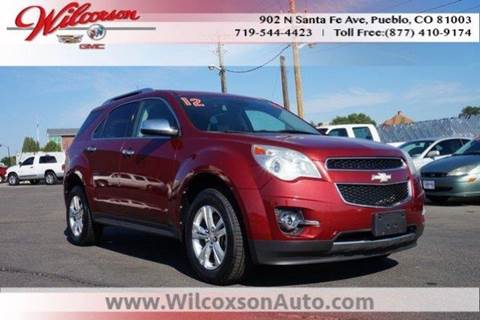 2012 Chevrolet Equinox for sale in Colorado Springs, CO