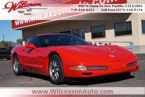 2003 Chevrolet Corvette for sale in Colorado Springs, CO