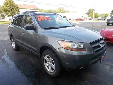 2009 Hyundai Santa Fe for sale in Dansville, NY