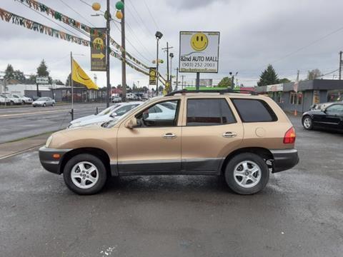 2001 Hyundai Santa Fe for sale in Portland, OR