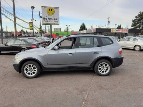 2004 BMW X3 2.5i for sale at 82nd AutoMall in Portland OR